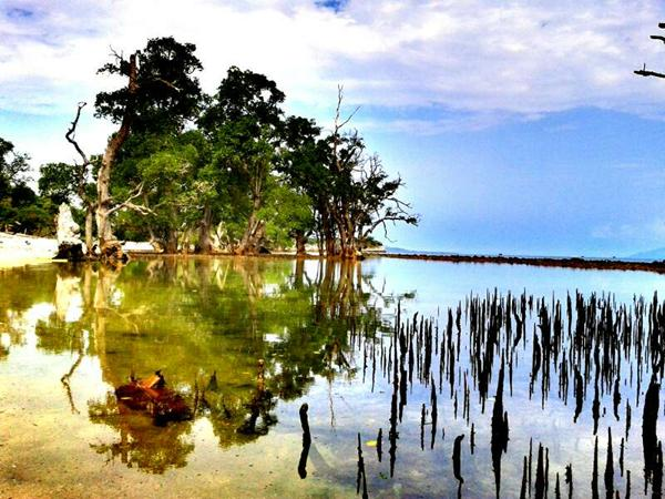 Pasir Putih Lhok Mee Potensial untuk Objek Wisata