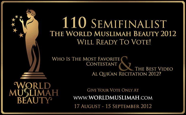 Yuk, Vote Icut di World Muslimah Beauty 2012