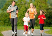 Ilustrasi olahraga sehat