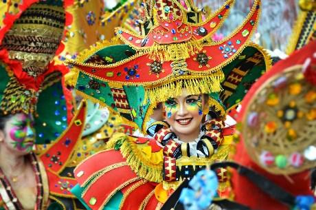 Karnaval Trapis (Foto kelilinglampung.wordpress.com)