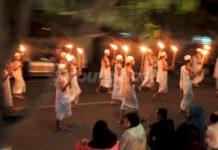 pawai obor idul adha di Banda Aceh