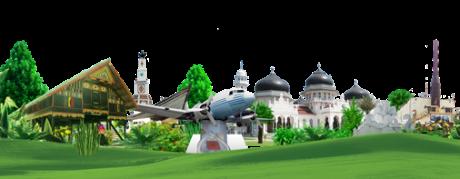 Masjid Raya Baiturrahman, Wujud Bandar Wisata Islami