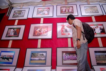 Pameran Foto Pembangunan Lhokseumawe (Foto Antaranews.com)