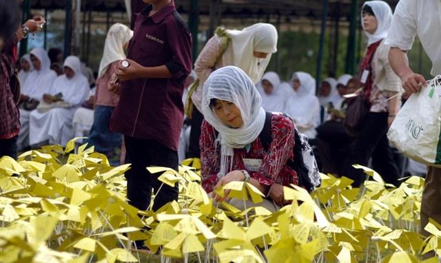 Peringatan tsunami di Aceh