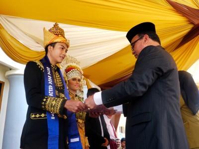 Raja dan Ratu Baca Aceh (Antaranews.com)