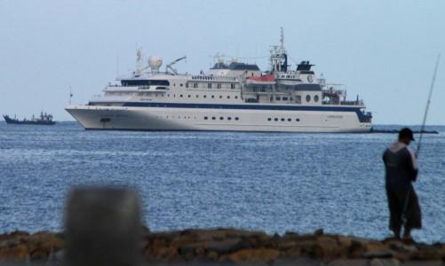 Kamis Pagi, Kapal Pesiar MV Clipper Odyssey Tiba di Sabang