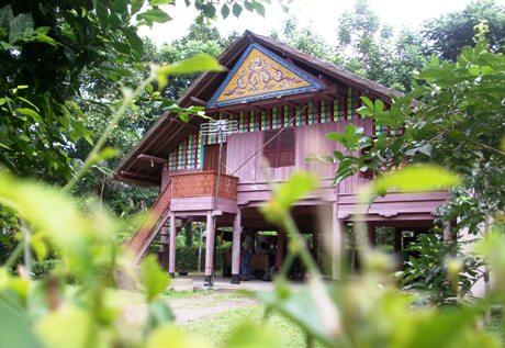 Rumoh Aceh di gampong Lubok Sukon (M Iqbal)
