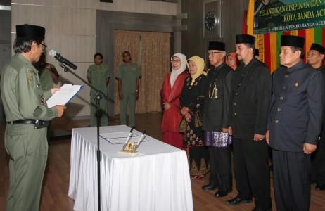 Foto: Pengurus Majelis Adat Aceh