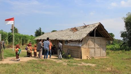 Foto: Semangat Pendidikan di Sawang