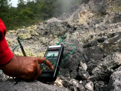 Pengukuran Gunung Api Seulawah Agam (antaranews.com)