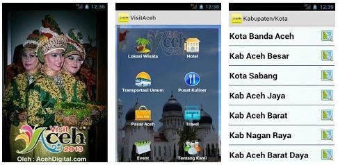 Aceh Digital Luncurkan Aplikasi Visit Aceh 2013