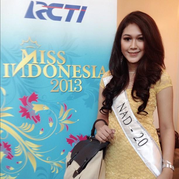 Retna Maharani Miss Indonesia asal Aceh