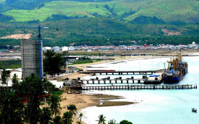 Pelabuhan Malahayati di Krueng Raya
