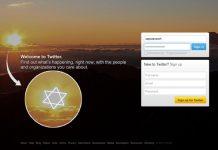 simbol yahudi di twitter