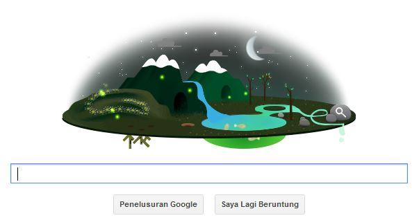 Hari Bumi 2013 Google Doodle