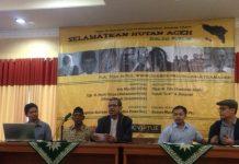 Suasana Diskusi Selamatkan Hutan Aceh di PP Muhammadiyah Jakarta (Ist)