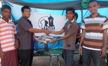 LDK FUAT Salurkan Bantuan untuk Rohingya