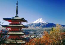 Gunung Fuji di Jepang (Foto art.rolo.vn)
