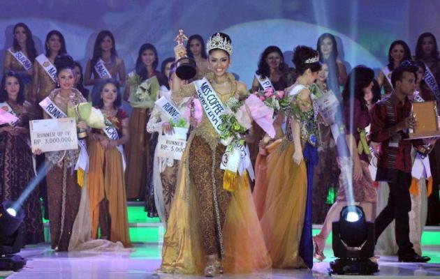 Miss Coffee Indonesia 2013 (beritadaerah.com)
