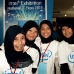Suasana Pameran Komputer NIX 2013 di Banda Aceh (M Iqbal)