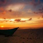 Senja di Pantai Lampuuk (trekearth.com)