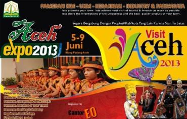 Juni Ini, Aceh Expo 2013 di Banda Aceh