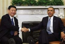 Xi Jinping dan Obama (REUTERS/Jason Reed)