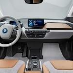 Mewahnya interior depan BMW i3