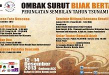 Peringatan 9 tahun tsunami di Aceh