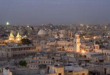 Kota Aleepo, Syiria jelang malam hari (lonelyplanet.com)