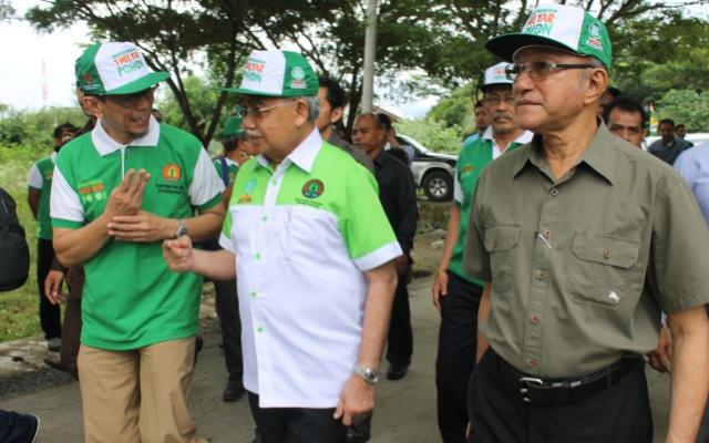 Tanam pohon Indonesia berlangsung di Banda Aceh (Foto Tarmizi Age)