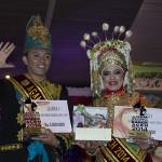 Juara I Agam Inong Banda Aceh, Fathur Maulana dan Zahratul Fajri (Foto M Iqbal/SeputarAceh.com)