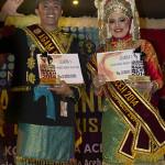 Agam Inong Banda Aceh 2014 (Juara Favorit Inong Banda Aceh, Zahratul Fajri (Foto M Iqbal/SeputarAceh.com)