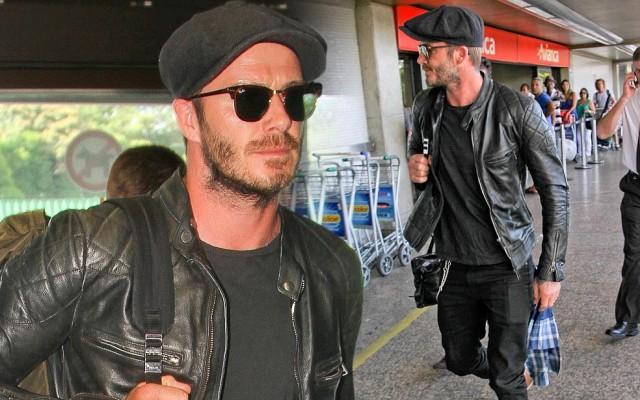 David Beckham di Rio de Janeiro, Brazil (Daily Mail)