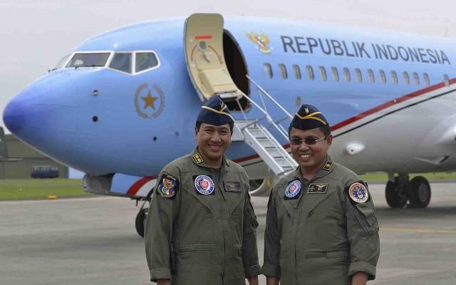 Pesawat Kepresidenan Indonesia (Foto Antara/Widodo S. Jusuf)
