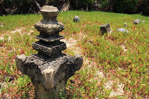 Batu nisan bertipologi Kesultanan Aceh Darussalam (Foto M Iqbal/SeputarAceh.com)