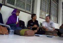 'Kopi darat' FAM Wilayah Sumatera Barat dan FAM Unit Kampus UNP, di Padang. (Foto: IST.)