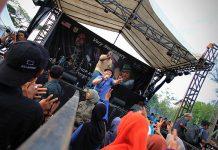 Konser Very Necessary di Taman Sari Banda Aceh (Foto M Iqbal/SeputarAceh.com)
