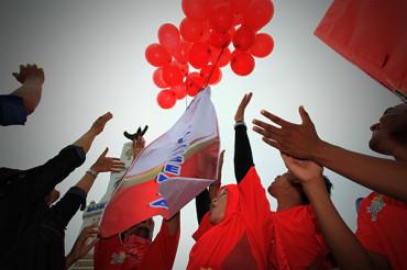 Foto-foto Aksi World Thalassemia Day di Aceh