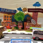 Miniatur danbo di Pekan Kreatif (Foto M Iqbal/SeputarAceh.com)