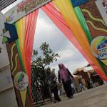 Pintu masuk pekan kreatif Banda Aceh 2014 (Foto M Iqbal/SeputarAceh.com)