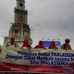 Putuskan rantai thalassemia dengan tidak menikah dengan sifat pembawa Thalassemia (Foto M Iqbal/SeputarAceh.com)