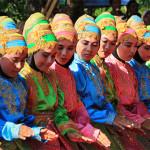 Tarian likok pulo di pekan kreatif (Foto M Iqbal/SeputarAceh.com)