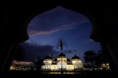 Keindahan Foto Masjid Raya Baiturrahman