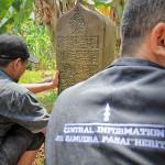 Lembaga CISAH melakukan observasi makam di Gampong Pango, Banda Aceh (Foto M Iqbal/SeputarAceh.com)