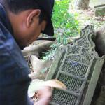 Makam seorang perdana menteri Kerajaan Aceh Darussalam Abad ke 16 M di Gampong Ilie, Banda Aceh (Foto M Iqbal/SeputarAceh.com)
