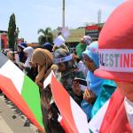 Warga berdoa untuk korban di Gaza, Palestina. (Foto M Iqbal/SeputarAceh.com)