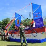 Kapal Phinisi meriahkan pawai kemerdekaan HUT RI (Foto M Iqbal/SeputarAceh.com)