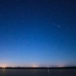 Meteor Perseid (Foto Leah Burgess)