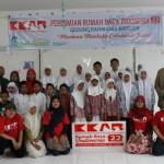Foto bersama diperesmian Rumah Baca Indonesia 22 di Bireuen, Aceh (Foto IST)